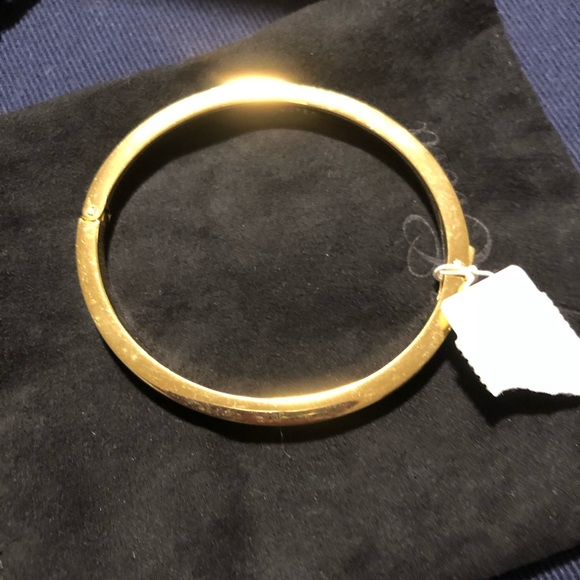 J Crew bangle bracelet gold/mustard-brand new